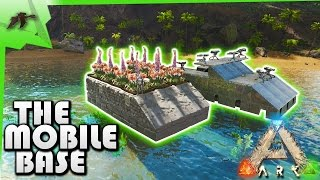 ARK: Survival Evolved - BATTLE RAFT AND MESSING WITH C4