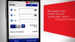 Download Mobile FFS. Il distributore di biglietti direttamente in mano. Video