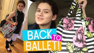 Download Shopping for Dance & What's in My Dance Bag! Video