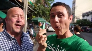 Download Eating Thai Food with Andrew Zimmern in Bangkok! Video