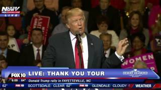 Download FNN: Donald Trump Thank You Tour Speech WITH Mad Dog James Mattis Fayetteville, NC Video