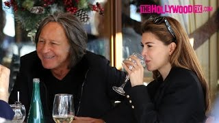 Download Mohamed Hadid & Shiva Safai Return To Beverly Hills After Aspen Christmas Vacation 12.29.15 Video