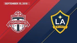 Download HIGHLIGHTS: Toronto FC vs. LA Galaxy | September 15, 2018 Video