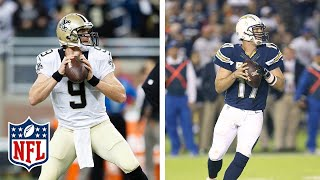 Download How Drew Brees Was Pushed Out by Philip Rivers & Saved the Saints | NFL Vault Stories Video