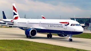 Download Flight Report   British Airways   A321-200   Flight BA146   Amman to London   Economy Class Video