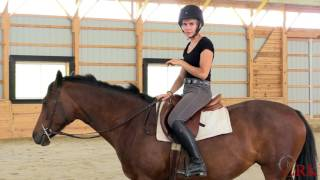Download Improve Your Stability in the Saddle by Riding ″On Your Thigh″ Video