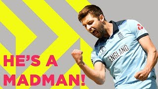 Download ″He's A Madman!″   Mark Wood's Pace and Personality   Cricket World Cup 2019 Video