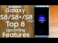 Download Samsung Galaxy S8, S8 Edge and S8 Plus - Top 8 Features Video