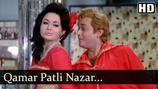 Download Qamar Patli Nazar Bijli - Kahin Din Kahi Raat Song - Biswajeet - Helen - Filmigaane Video