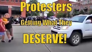 Download Driver Hits Protesters but Look at What the Police do! Video