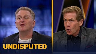 Download Michael Rapaport and Skip Bayless get into it after Mayweather's win vs McGregor   UNDISPUTED Video