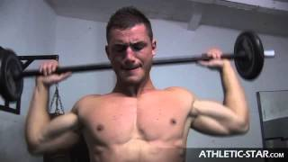 Download NICK GOMEZ Fitnessmodel POWER TRAINING Video