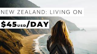 Download New Zealand Travel Budget- Campervan Roadtrip- Less than $50 per person per day! Video