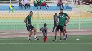 Download Umwana witwa Marine yakoranye Imyitozo n'abazasifurira Rayon Sports Fc na Enyimba Video