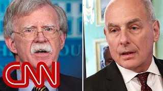 Download John Bolton and John Kelly get into heated shouting match Video