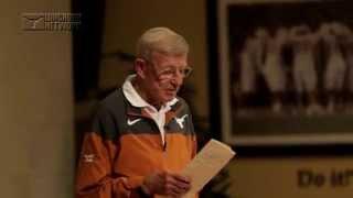 Download Lou Holtz visits Texas Football [April 8, 2015] Video