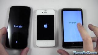 Download Android vs iOS vs Windows Phone Boot Up Test, Which OS is Fastest? Video