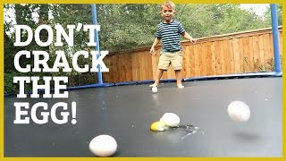 Download KIDS, EGGS AND A TRAMPOLINE! Video