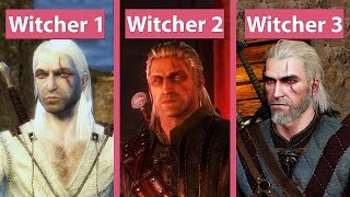 Download Witcher Evolution – The Witcher EE vs. The Witcher 2 EE vs. The Witcher 3 Graphics Comparison Video