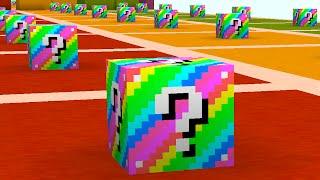 Download Minecraft 1v1v1 RAINBOW LUCKY BLOCK RACE! (Minecraft Mods) w/PrestonPlayz & The Pack Video