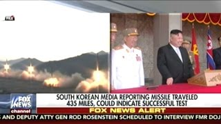 Download North Korea's Latest Missile Launch ″Successful″ Flying 435 Miles According To South Korea Video
