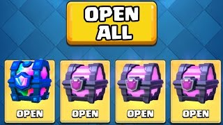 Download LEGENDARY CHEST OPENING :: Clash Royale :: TWO LEGENDARY CARDS FROM CHESTS! Video