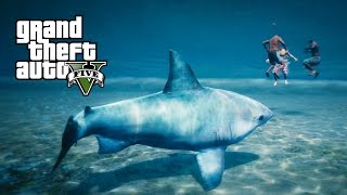 Download GTA 5 PS4 - Jogando como Arraia e Tubarão (Play as a Ray & Shark - GTA 5 Peyote plant locations) Video