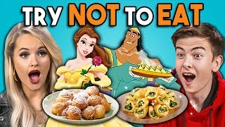 Download Try Not To Eat Challenge - Disney Food #2 | People Vs. Food Video