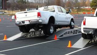 Download Frame Twist Test: 2014 Ram 3500 vs. 2014 Ford F350 Video