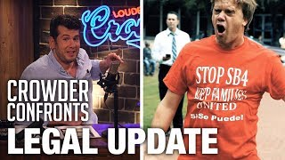 Download Legal Update on 'Crowder Confronts Lying Professor' | Louder With Crowder Video