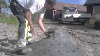 Download Ronny spränger sten i Söderby Video