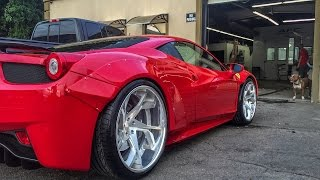 Download Twin Turbo Liberty Walk Ferrari 458 Debut Video