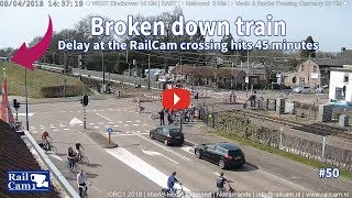 Download Broken down train is causing delays Video