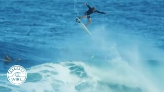 Download John John Florence Massive Alley-Oop during Billabong Pipe Masters 2016 Lay-Day Video