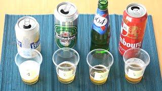 Download Saurez-vous reconnaître une bière sans alcool avec ce test? Pas sûr Video