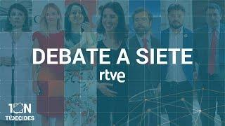 Download DEBATE A SIETE EN RTVE   Elecciones 10N Video