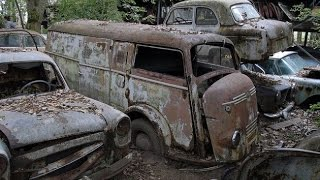 Download ABANDONED CAR FOREST found army truck Video