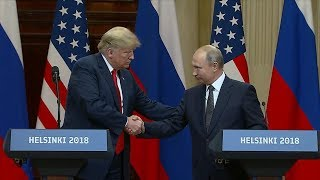Download ABC News Live: Trump-Putin summit reactions, lava bombs, Thailand cave latest Video