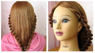 Download Tuto coiffure simple et rapide pour tous les jours 💫 cheveux long/mi long 💫 Coiffure avec tresse Video