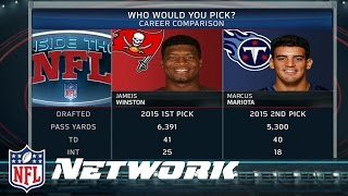Download Marucs Mariota or Jameis Winston: Who is Better So Far? | Inside the NFL Video