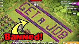 Download Top 25 BANNED Base Designs (Sexual/Troll) In Clash of Clans! Video
