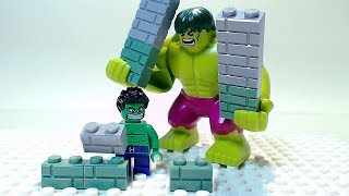 Download LEGO HULK Building Bricks Superhero Cartoon Video
