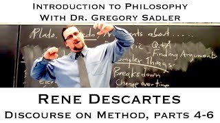 Download Rene Descartes, Discourse on Method parts 4-6 - Introduction to Philosophy Video