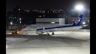 Download MRJ 5号機(ANA塗装)道を横断して名古屋空港へ搬入 MRJ cross the street Video
