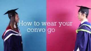Download Guide to wearing your graduation gown Video