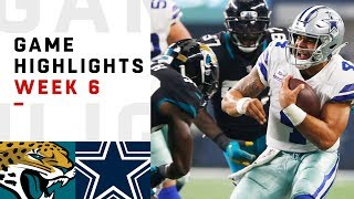 Download Jaguars vs. Cowboys Week 6 Highlights | NFL 2018 Video