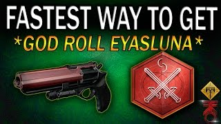 Download Destiny | HOW TO GET A PERFECT EYASLUNA | BEST METHOD | FASTEST WAY TO GET EYASLUNA w/ PERFECT PERKS Video