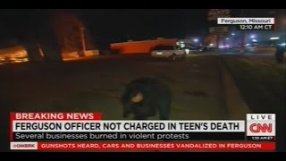 Download CNN Reporter Sara Sidner Hit with Rock During Ferguson Protests Video