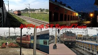 Download Awesome WAP4 Railfaning at Erode Coimbatore Thrissur Ernakulam Section with Intercity Trains Video