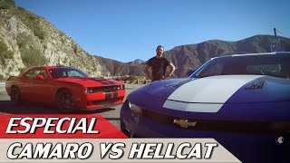 Download CHEVROLET CAMARO SS 2017 X DODGE CHALLENGER HELLCAT - ESPECIAL # 102 | ACELERADOS Video
